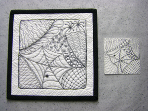 Woodland Spider & Tile